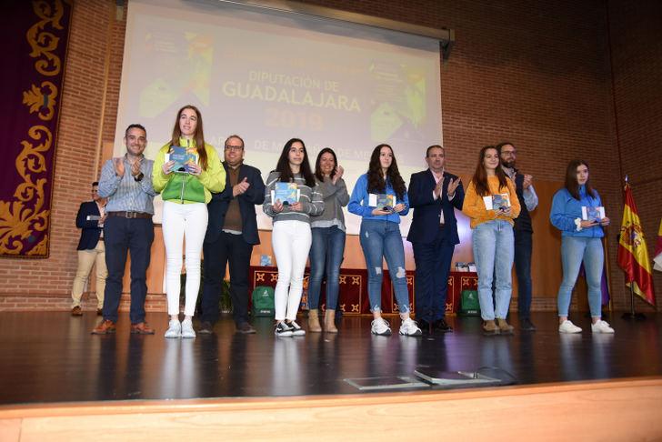 La Diputación de Guadalajara entrega los premios de sus Circuitos Provinciales de Carreras Populares y de Montaña