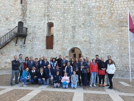 Un grupo de 30 personas conoce y disfruta del 'Viaje a la Alcarria' de la mano de la Diputación