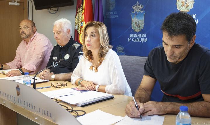 Amplio dispositivo de Seguridad para la celebración de las Ferias y Fiestas de Guadalajara