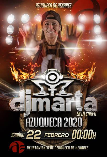 Concierto gratuito de DJ Marta para los más jóvenes el sábado de Carnaval