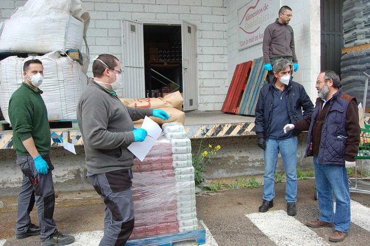 Las empresas de 'AlimentosdeGuadalajara' donan más de 2000 kg de productos