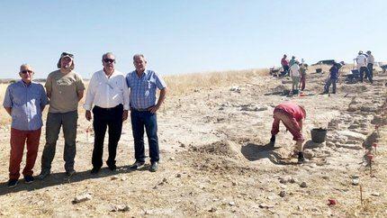 Destacan el interés que ha despertado el yacimiento arqueológico de Driebes