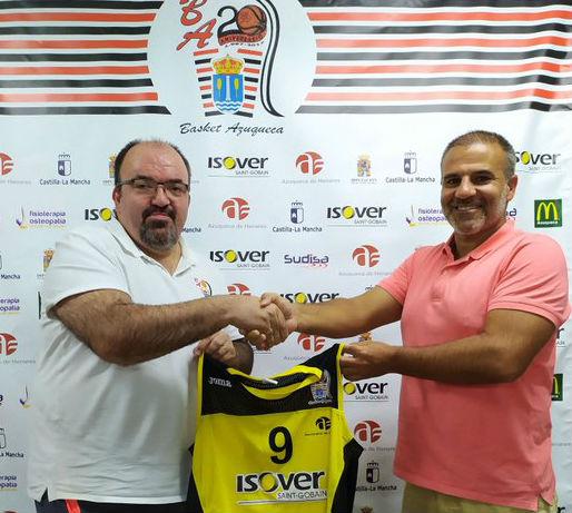 El entrenador madrileño Jorge Lorenzo Calvo dirigirá al Isover Basket Azuqueca