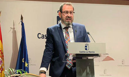 Eusebio Robles toma posesión como nuevo delegado de la Junta en Guadalajara