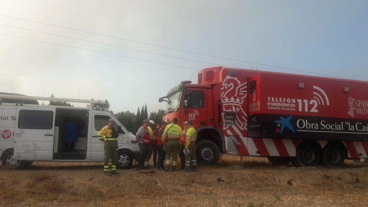 Activan medios de Guadalajara para intervenir en un gran incendio en Alicante