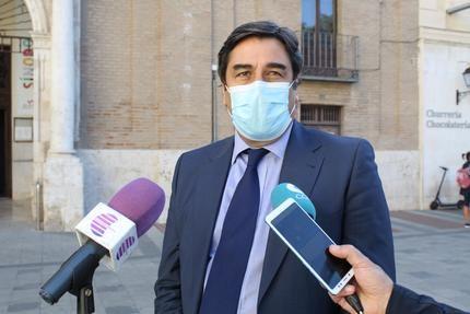"""Echániz: """"Exijo a García-Page que afronte la pandemia en Castilla-La Mancha y abandone la confrontación con Madrid"""""""