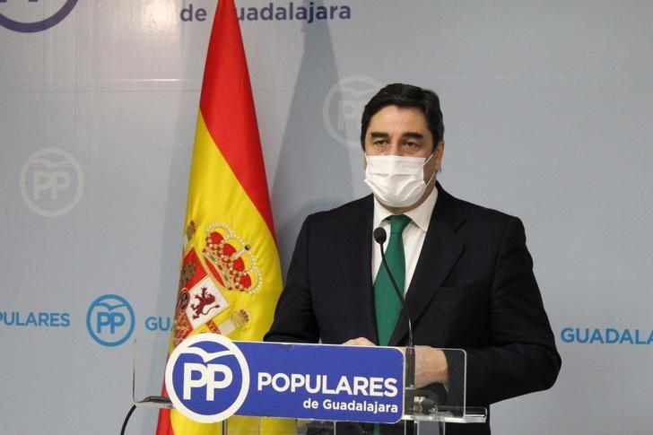 """Echániz reprocha al PSOE que """"su nefasta gestión"""" de la crisis sanitaria sitúe a España en el tercer peor país del mundo en número de nuevos casos de Coronavirus"""