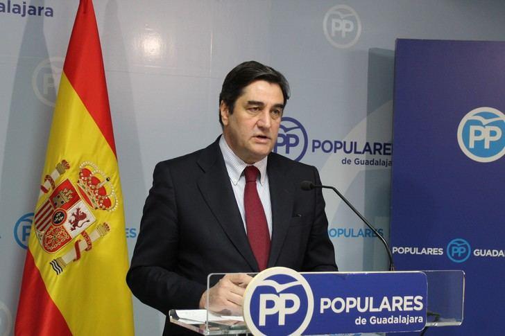 """Echániz denuncia que """"la única patria de Sánchez es él mismo, sin importarle lo más mínimo acabar con la igualdad entre españoles"""""""