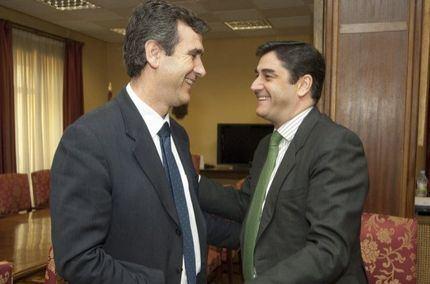José Ignacio Echániz al Congreso y Antonio Román al Senado, dos pesos pesados del PP para representar a Guadalajara en Madrid