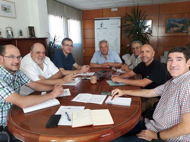 Ecologistas en Acción de Guadalajara se reúne con el Delegado Provincial de Desarrollo Sostenible
