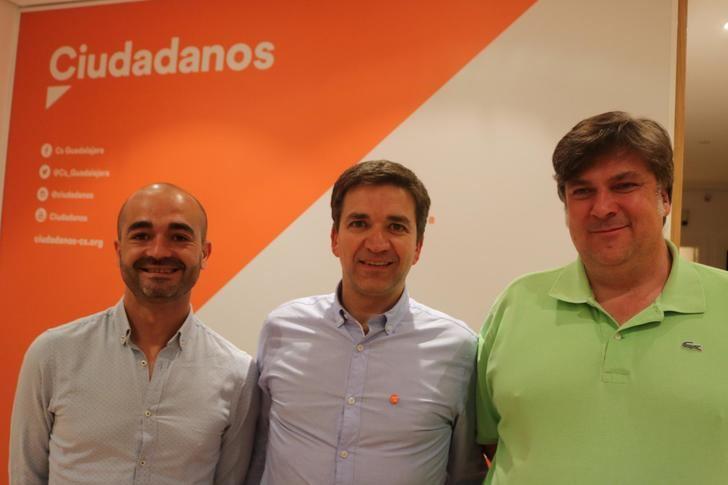 Israel Marco es el portavoz de Ciudadanos Guadalajara en el Ayuntamiento de la capital alcarreña