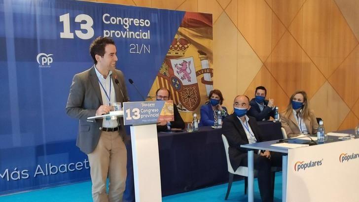 """García Egea pregunta a Page si sus diputados votarán unos PGE """"pactados con Bildu, o con España y el PP"""""""