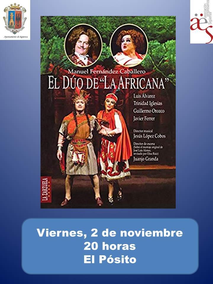 Este viernes, proyección de zarzuela de la iniciativa 'Vive la Opera' en Sigüenza