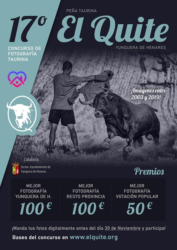 La Peña Taurina 'El Quite' celebra online la XVII Edición de su Concurso de Fotografía