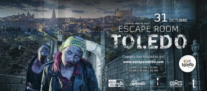 Grupo Vive Toledo convierte sus locales en un pasadizo del terror