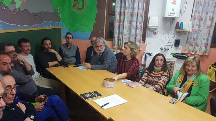Reunión de trabajo con las Escuelas municipales de la Cotilla de Guadalajara