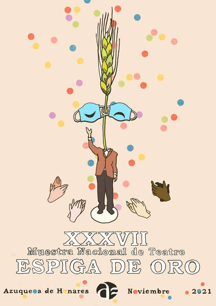 La XXXVI Espiga de Oro de Azuqueca sube el telón este fin de semana con las obras 'El desguace de las musas' y 'Háblame'