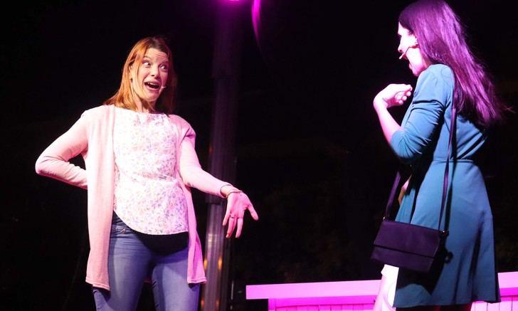 Noche de carcajadas con el teatro de «Estrógenos» en Cabanillas
