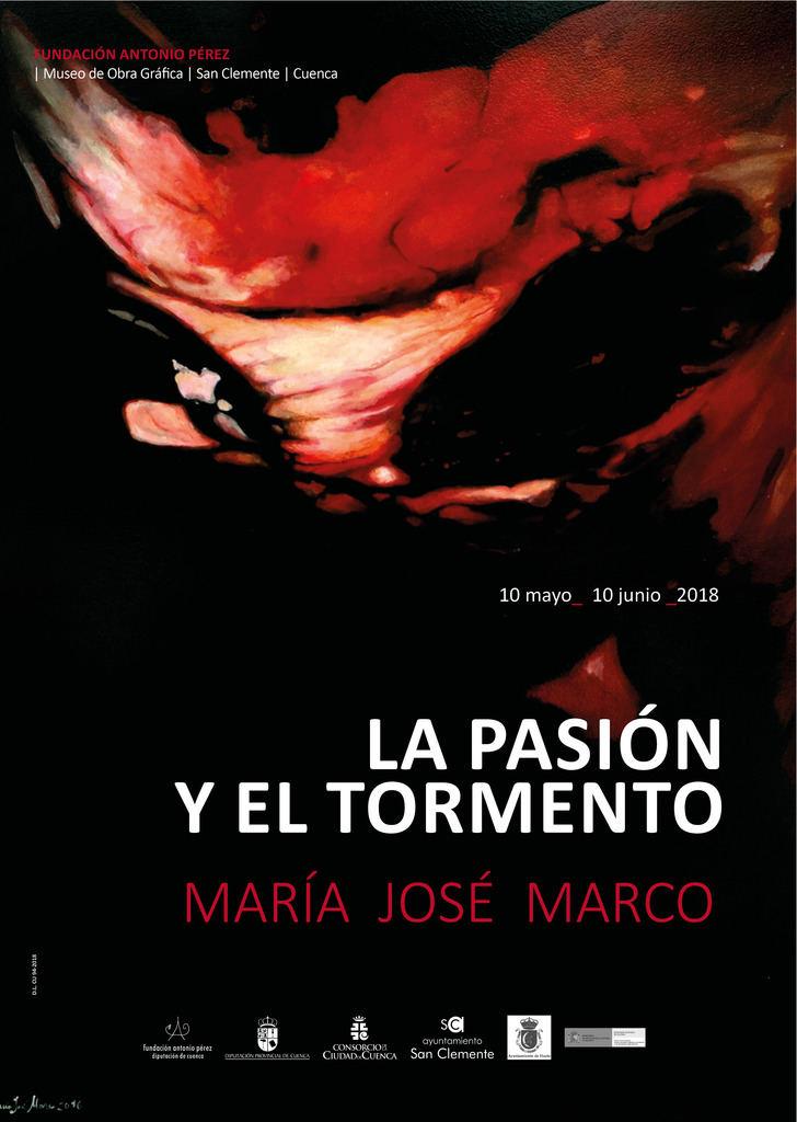 """Exposición """"La Pasión y el Tormento"""" de María José Marco el 10 de mayo en Cuenca"""