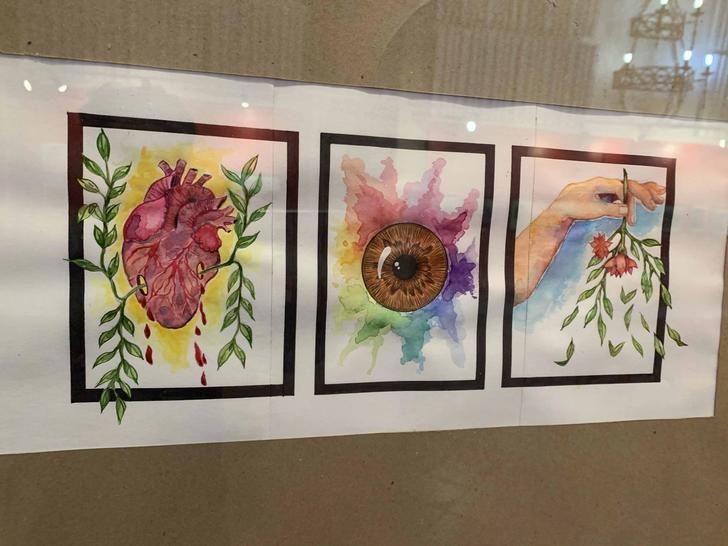 Gran éxito de la Exposición colectiva de la Asociación de Pintores de Sigüenza