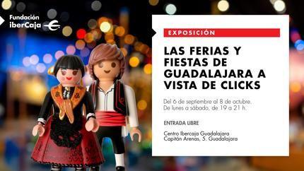 """Inauguración de la Exposición """"Las Ferias y FIestas de Guadalajara a vista de Clicks"""" en el Centro IberCaja Guadalajara"""