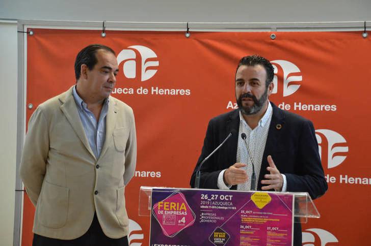 """La Feria de Empresas persigue mostrar """"la excelencia de los servicios de Azuqueca"""""""