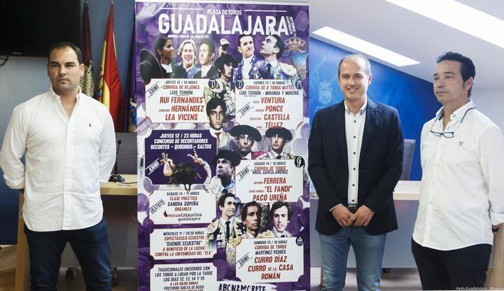 Antonio Ferrera, Paco Ureña, Leonardo Hernández y Lea Vicens en el cartel de la Feria de la Virgen de la Antigua de Guadalajara