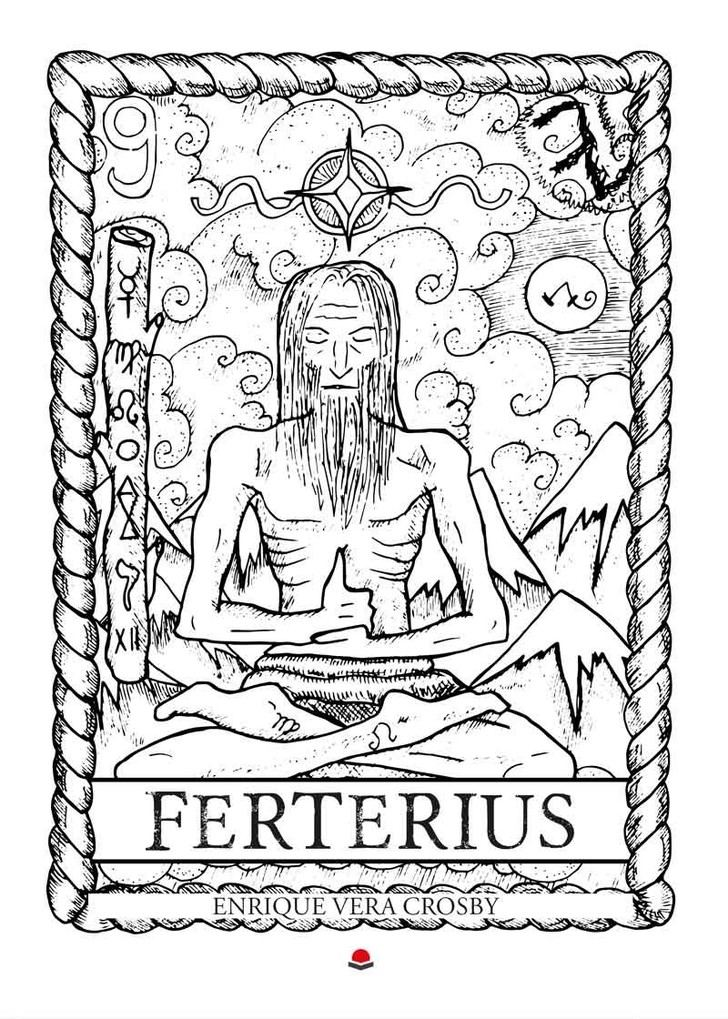 """""""Ferterius"""", una novela fantástica y gótica que mezcla terror con música rock y metal"""