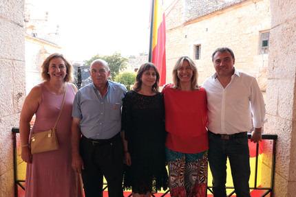Ana Guarinos pregonó anoche las fiestas de Escariche