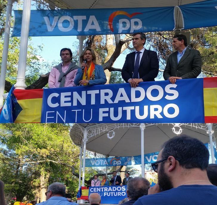 """Guarinos y Román piden del voto para el PP, """"el único que garantiza un futuro mejor para Guadalajara y para Castilla-La Mancha"""""""