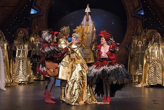 'La flauta mágica' devuelve las grandes tardes de ópera al Buero Vallejo en Guadalajara