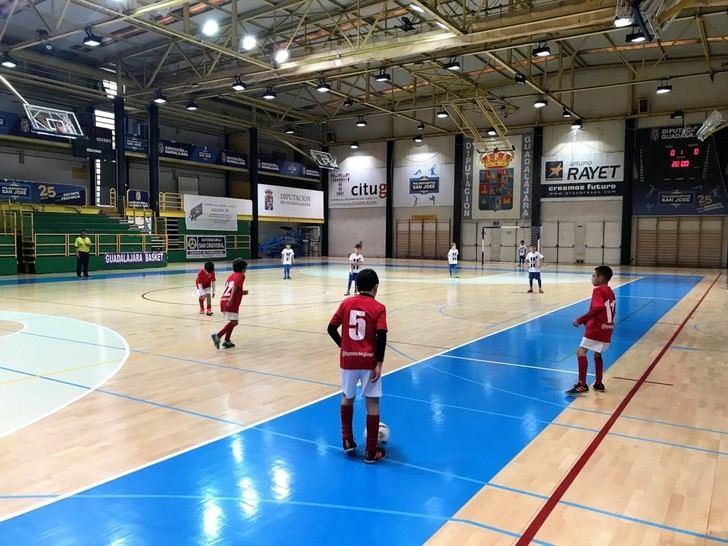 Los conjuntos de deporte escolar de FS Pozo de Guadalajara se quedaron al borde del pleno