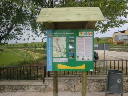 Fuentelencina recuerda a 'Manolete' con una ruta senderista