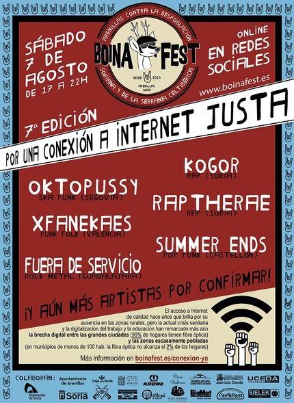 Fuera de servicio representará a Guadalajara en el Boina Fest y se unen a su lucha contra la despoblación y por una conexión a Internet justa