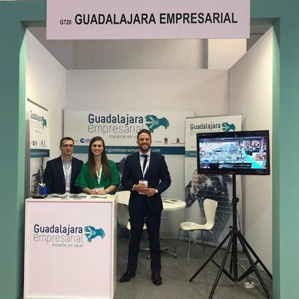 Éxito de visitas del stand de 'Guadalajara Empresarial' en la Feria SIL Barcelona 2019