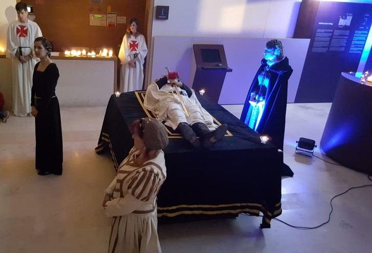 Los templarios vuelven a protagonizar las Jornadas Nocturnas del castillo de Torija organizadas por la Diputación