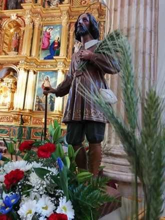 Los agricultores de Yebra honran a su patrón, San Isidro, en la celebración de su festividad