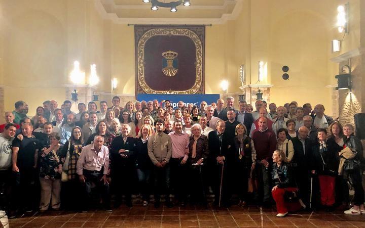 """Valmaña anima a los cifontinos a votar al PP para, """"entre todos ganar el futuro"""" de Cifuentes"""