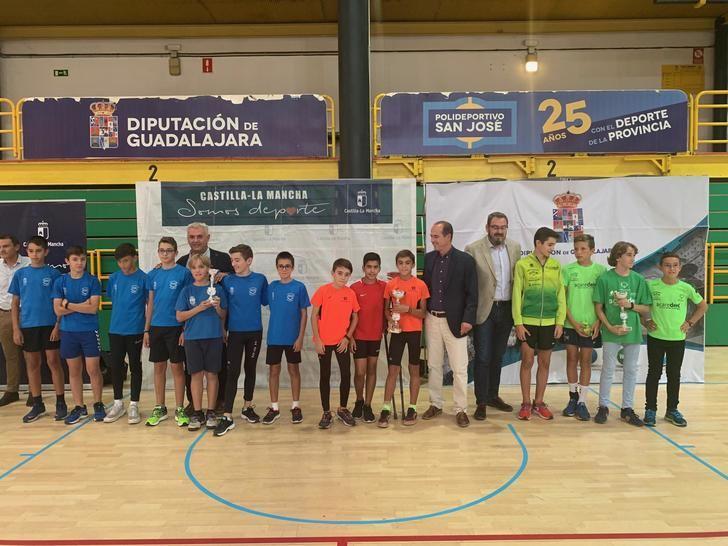 El delegado de la Junta felicita a los cerca de 13.000 estudiantes de Guadalajara que han participado en el Campeonato de Deporte en Edad Escolar