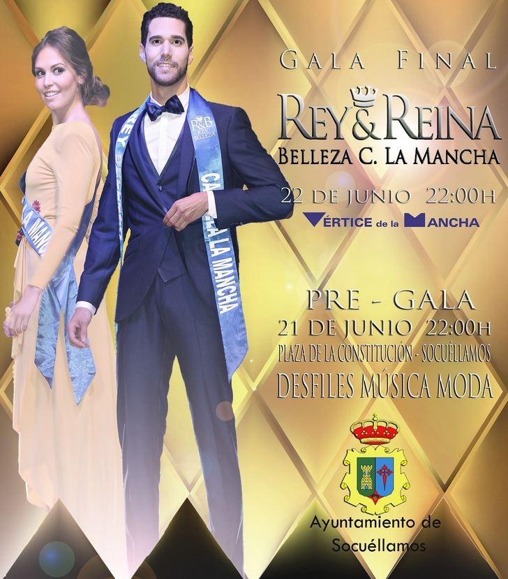 Todo listo para la celebración de la Gala de la Elección de Rey y Reina de la Belleza Castilla La Mancha