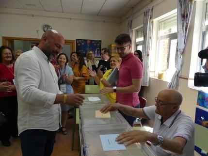 """García Molina : """"Espero y deseo que la gente vote para que Castilla-La Mancha siga contando con un gobierno de progreso"""""""