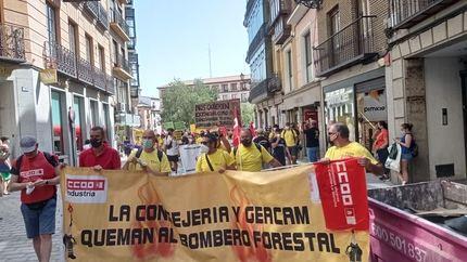 """CCOO, SIBF, USO y Satif consideran """"injusta y mezquina"""" la propuesta de Geacam para resolver el conflicto laboral"""