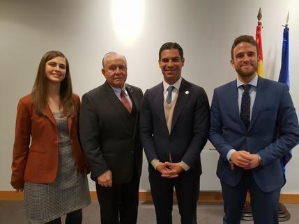 """""""Guadalajara Empresarial"""" participa en un encuentro con el alcalde de Miami"""