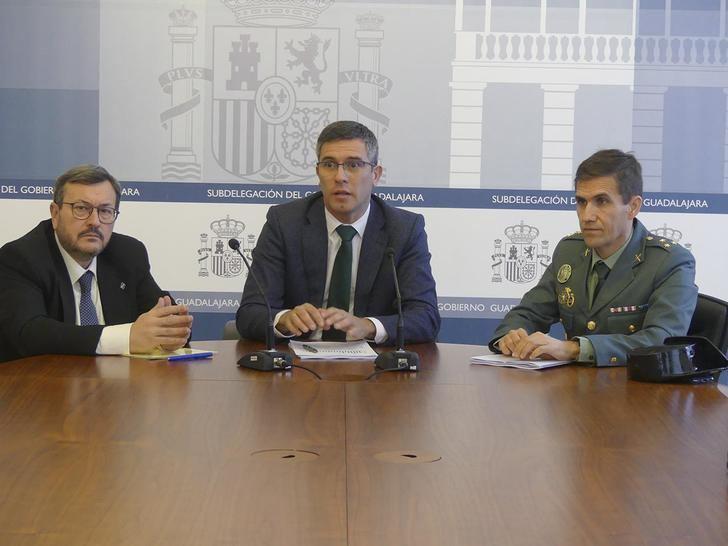Guadalajara fue la provincia con menos fallecidos en accidente de tráfico en 2019