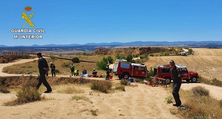 El amplio despliegue coordinado por la Guardia Civil en Burujón no pudo tener el final deseado