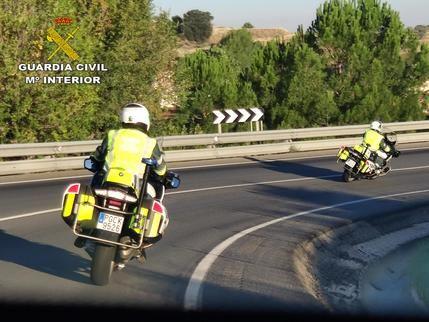 La Guardia Civil de Guadalajara investiga al conductor de un camión que cuadriplicó la tasa de alcoholemia permitida
