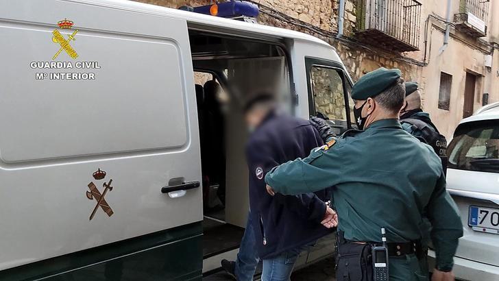 La Guardia Civil desarticula una organización criminal que operaba en Sigüenza dedicada al tráfico de cocaína (500 dosis)