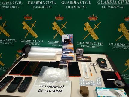 La Guardia Civil de Ciudad Real detiene a una persona por un delito de tráfico de drogas