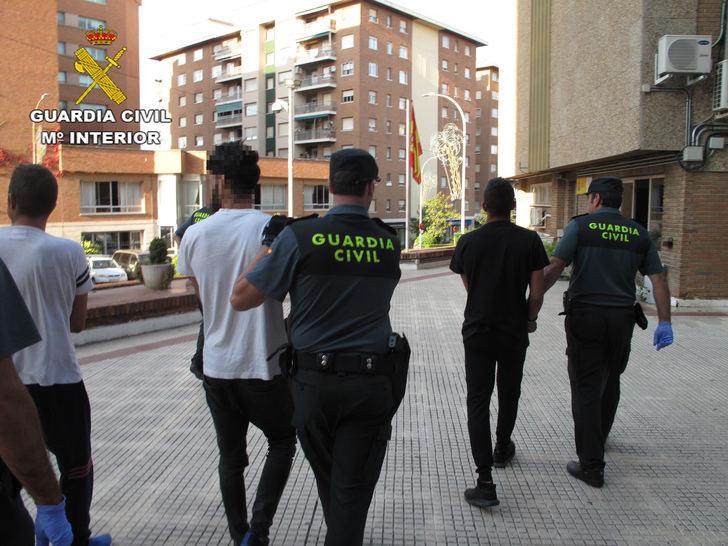 La Guardia Civil detiene a tres personas por robo en viviendas, naves, talleres y explotaciones agrícolas de la provincia de Guadalajara