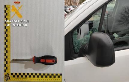La Guardia Civil detiene a dos jóvenes por más de veinte delitos de robo en La Sagra de Toledo